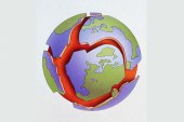 دراسة التطور التكتوني لنهوض البشري وبنائه الداخلي وعلاقتهما بالاندفاعات البركانية