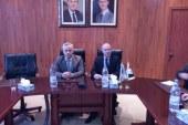 السيد وزير الاتصالات والتقانة المهندس إياد الخطيب في زيارة للهيئة