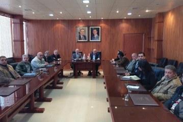اتفاقية تعاون بين الهيئة العامة للاستشعار عن بعد وهيئة الموارد المائية