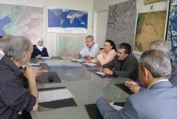 تعاون علمي مع وزارة الموارد المائية