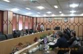 الهيئة في زيارة رسمية لمؤسسة الجغرافيا الإيرانية