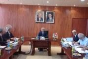 السيد وزير الاتصالات يترأس اجتماع مجلس ادارة الهيئة