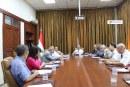 السيد وزير الاتصالات والتقانة يترأس اجتماع عمل للهيئة لمناقشة استراتيجية خطة الهيئة المستقبلية